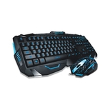 Teclado e Mouse Gamer Multilaser Lightning