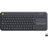 Teclado Logitech Wireless Touch Pad K400 Preto